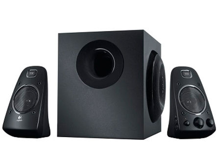 Logitech Z623 Black THX-Certified 2.1 Speaker System ( 2.1 surround, RMS 200W, 130W subwoofer, 2x35W satel. ), 980-000403 (boxe sistem acustic/колонки акустическая сиситема), www