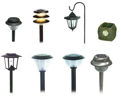 Lampe de baterii solare