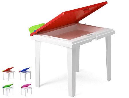 Masa de gradina pentru copii ALADINO (4 culori)