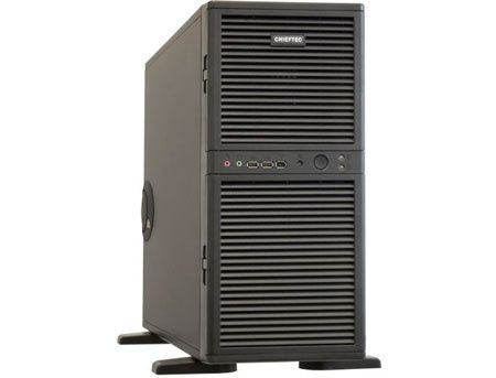 Server Case Chieftec WH-02B-B-OP Black no PSU, 2x12cm FAN, 2xUSB2.0, 1xIEEE 1394 Firewire, Mic-in, Line-out (carcasa/корпус)