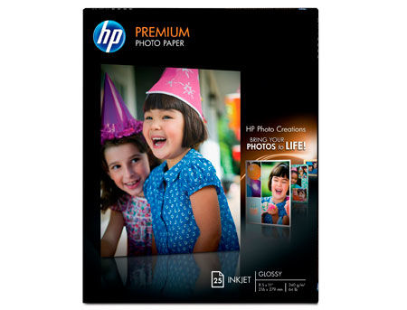 HP Premium Photo Paper A4, glossy, 240g/m2, 20 pcs