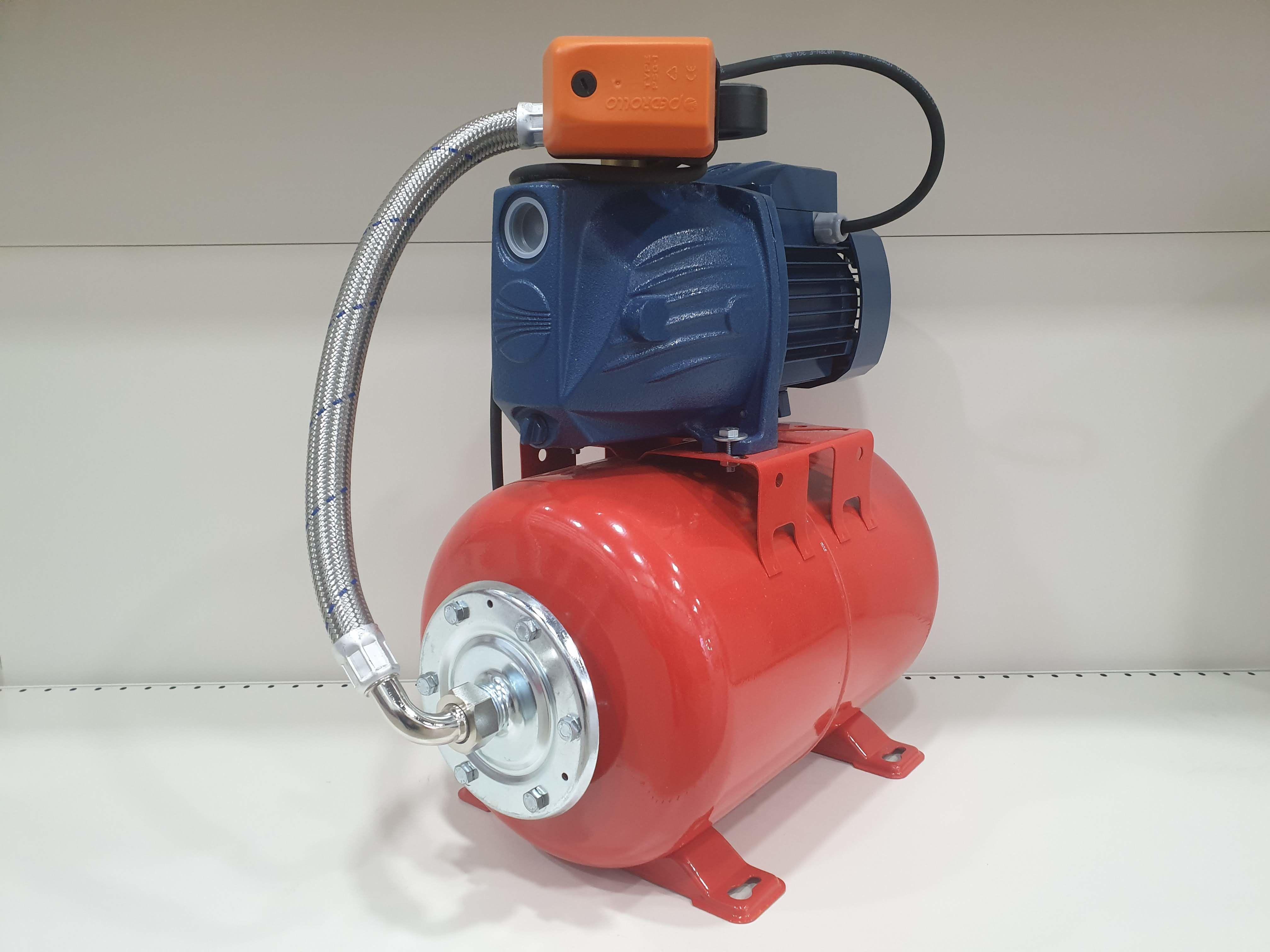 Гидрофор PEDROLLO JSWm2 AX-24CL 1.1кВт 9м