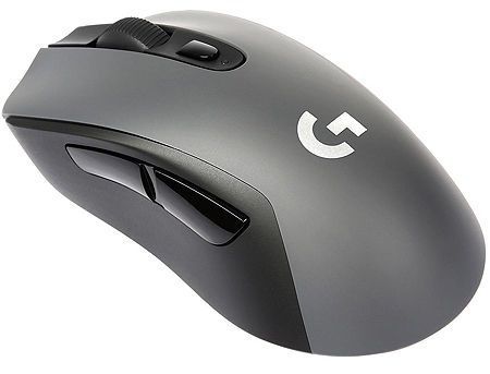Logitech G603 Lightspeed Wireless Gaming Mouse, HERO sensor 200-12000dpi, USB, 910-005101 (mouse fara fir/беспроводная мышь),