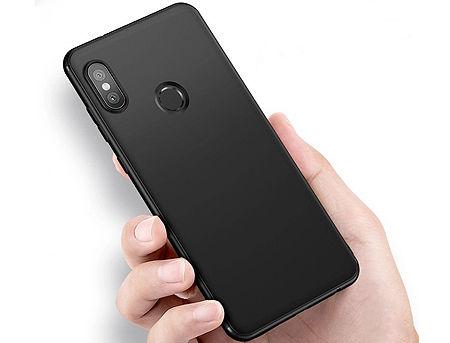 570013 Husa Screen Geeks Solid Xiaomi Redmi Note 6 Pro, Black (чехол накладка в асортименте для смартфонов Xiaomi)