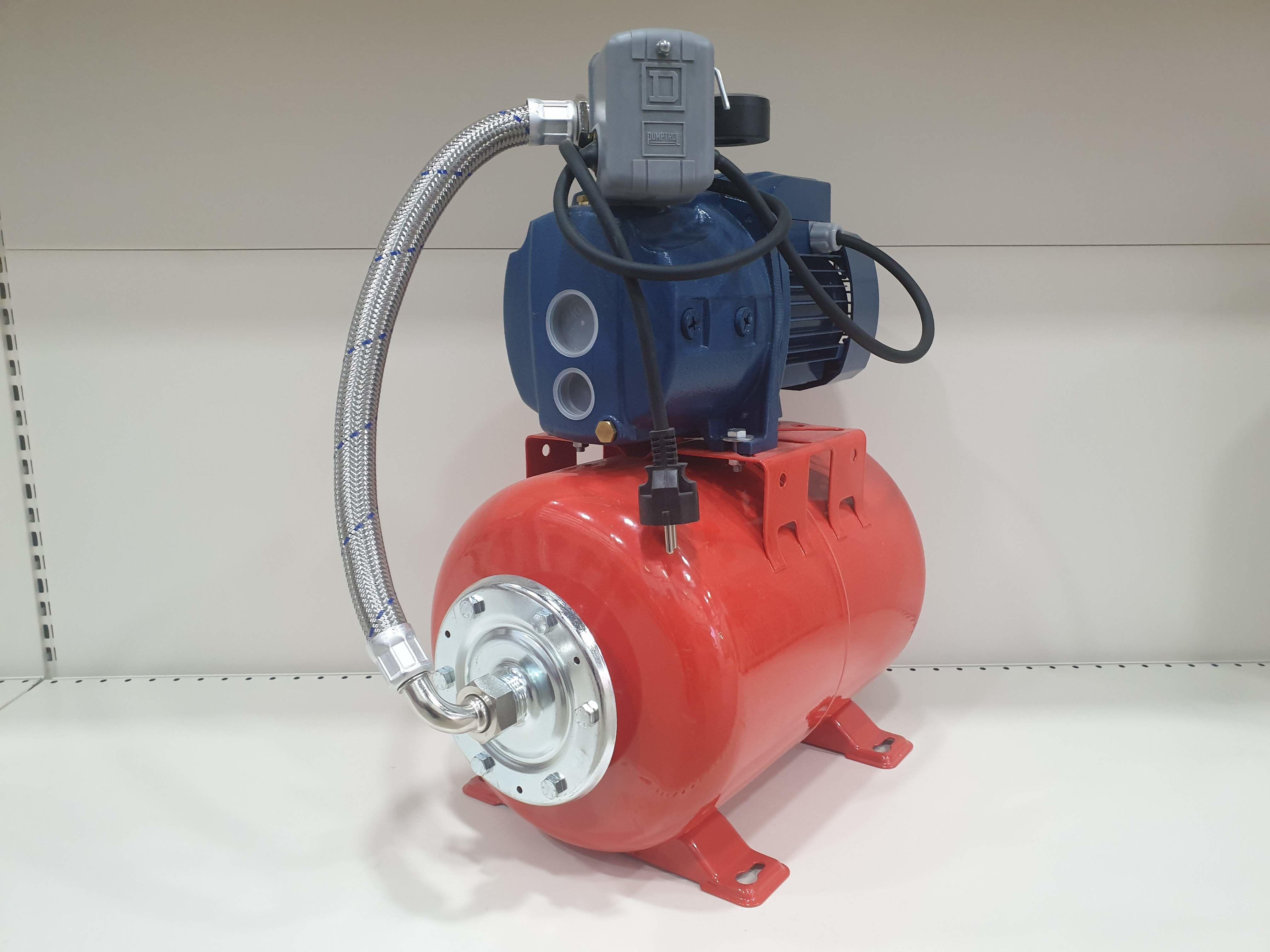 Гидрофор PEDROLLO JDWm1AX/30-4-24CL 0.75кВт 25м (Защита)