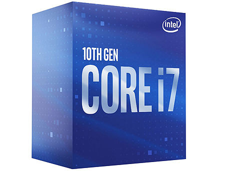 Процессор CPU Intel Core i7-10700 2.9-4.8GHz 8 Cores 16-Threads, (LGA1200, 2.9-4.8Hz, 16MB, Intel UHD Graphics 630) BOX with Cooler, BX8070110700 (procesor/процессор)