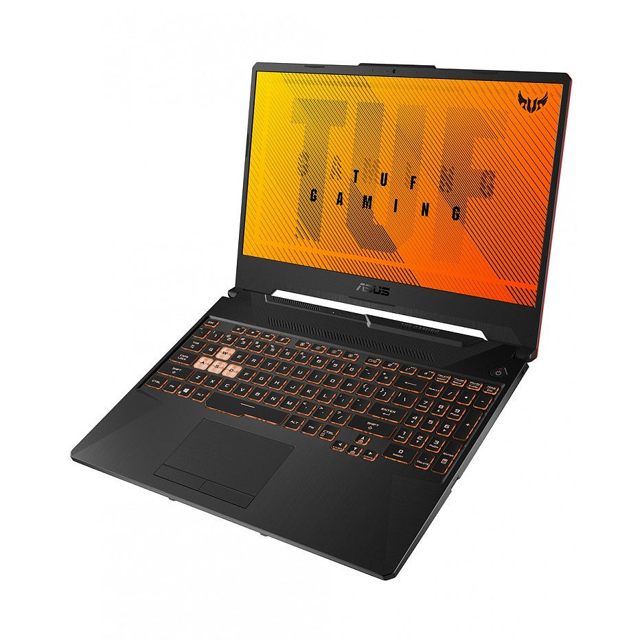 "Laptop 15.6"" ASUS TUF FX506IH, AMD Ryzen 5 4600H 3.0-4.0GHz/8GB DDR4/M.2 NVMe 512GB SSD/GeForce GTX1650 4GB GDDR6/WiFi 802.11AC/BT5.0/USB Type C/HDMI/Webcam HD/Backlit RGB Keyboard/15.6"" FHD IPS LED-backlit 144Hz (1920x1080)/NoOS/Gaming FX506IH-HN190"
