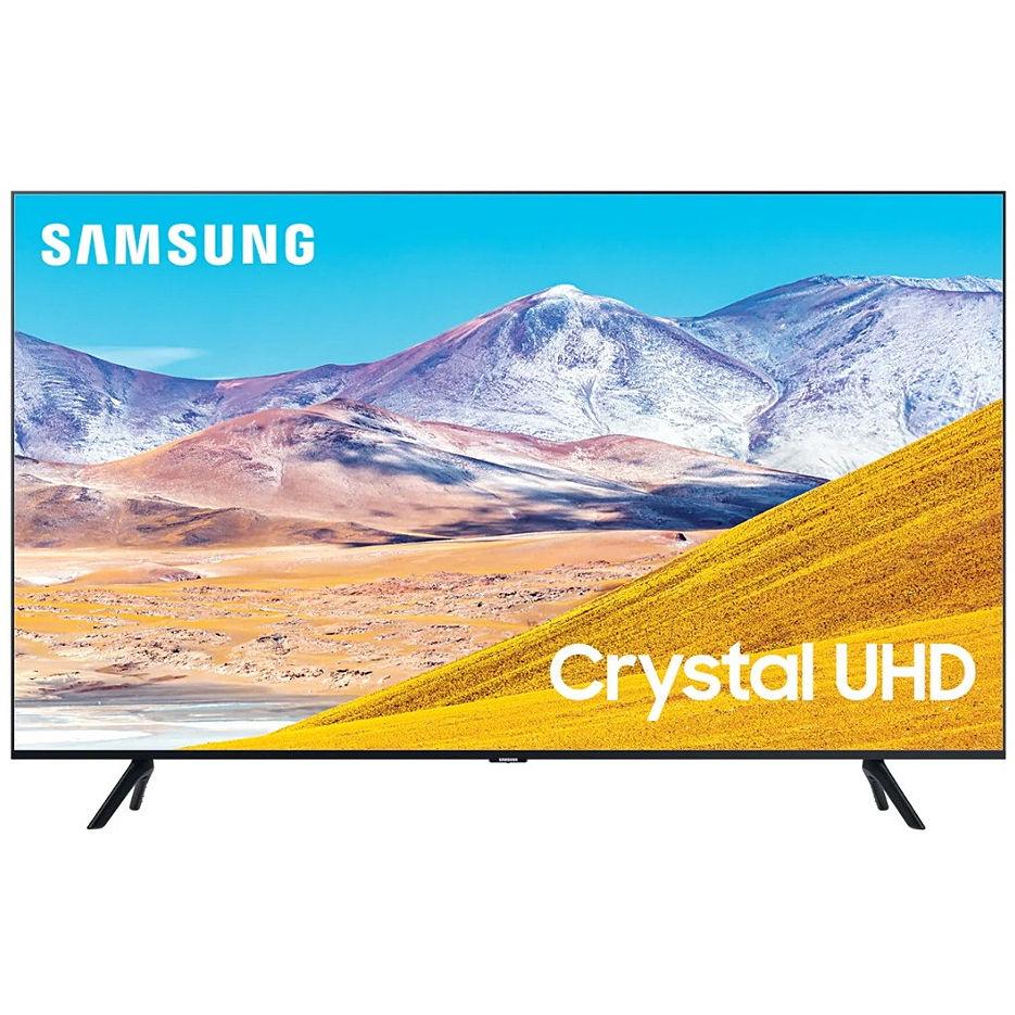 "Телевизор 65"" LED TV Samsung UE65TU8000UXUA, Black (3840x2160 UHD, SMART TV, PQI 2100Hz, DVB-T/T2/C/S2"