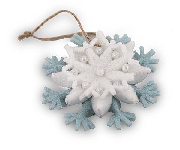 Снежинки и цветки