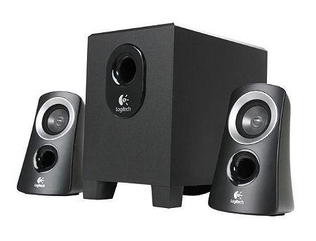 Logitech Z313 Black Compact 2.1 Speaker System ( RMS 25W, 15W subwoofer, 2x5W satel. ), 40Hz - 20kHz, 980-000413 (boxe sistem acustic/колонки акустическая сиситема)