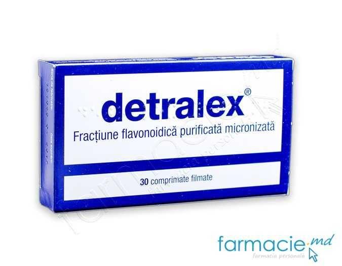 Detralex mg, 30 comprimate, Les Laboratoires Servier : Farmacia Tei