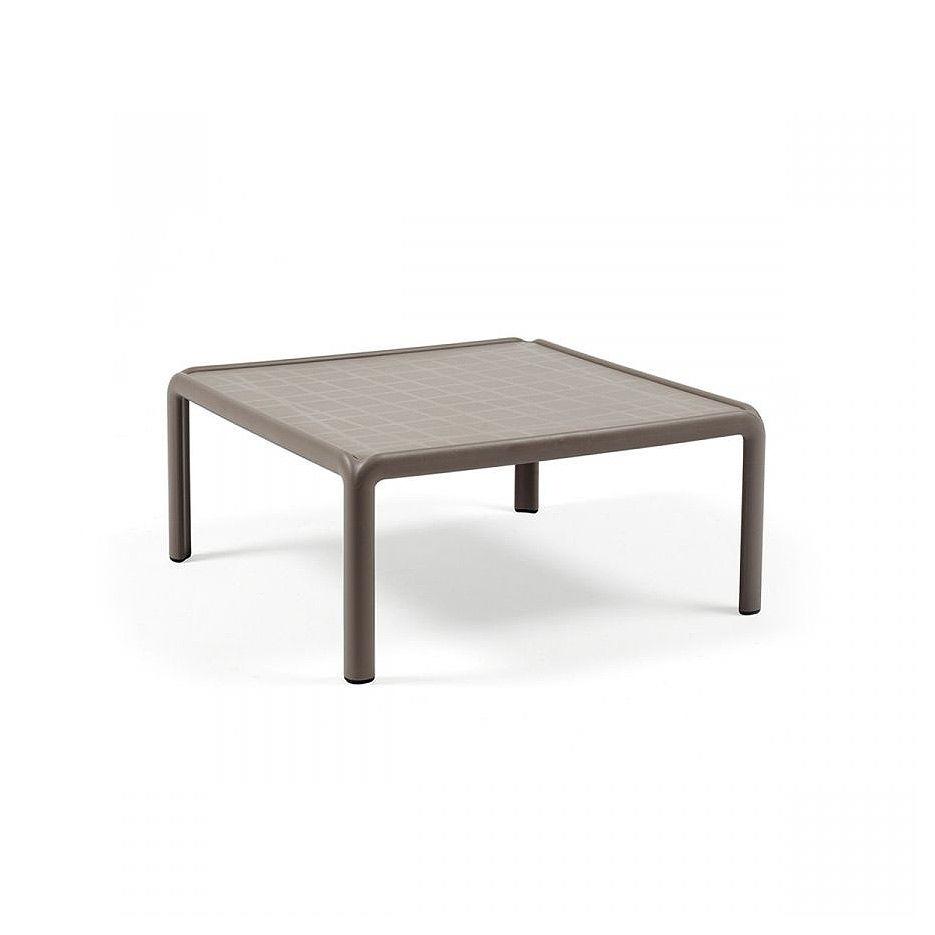 Столик кофейный Nardi KOMODO TAVOLINO TORTORA 40378.10.000 (Столик кофейный для сада и террасы)