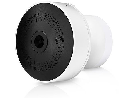 "Ubiquiti UniFi G3 Video Camera UVC-G3-Micro, 1080p Full HD, 30 FPS, 1/3"" 4-Megapixel Sensor with WDR, EFL 2.7 mm, f/2.2, Microphone, Magnetic Base/Wall/Table, 802.3af PoE, IR LEDs with Removable IR Cut Filter, Built-in Light Sensor"