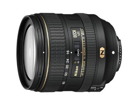 Nikon AF-S DX NIKKOR 16-80mm f/2.8-4E ED VR (NEW Lens). DX, filter: 72mm, JAA825DA (Obiectiv Nikon/ обьектив Nikon)
