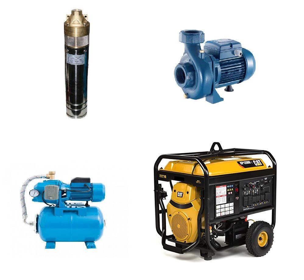 Электроснабжение и водоснабжение