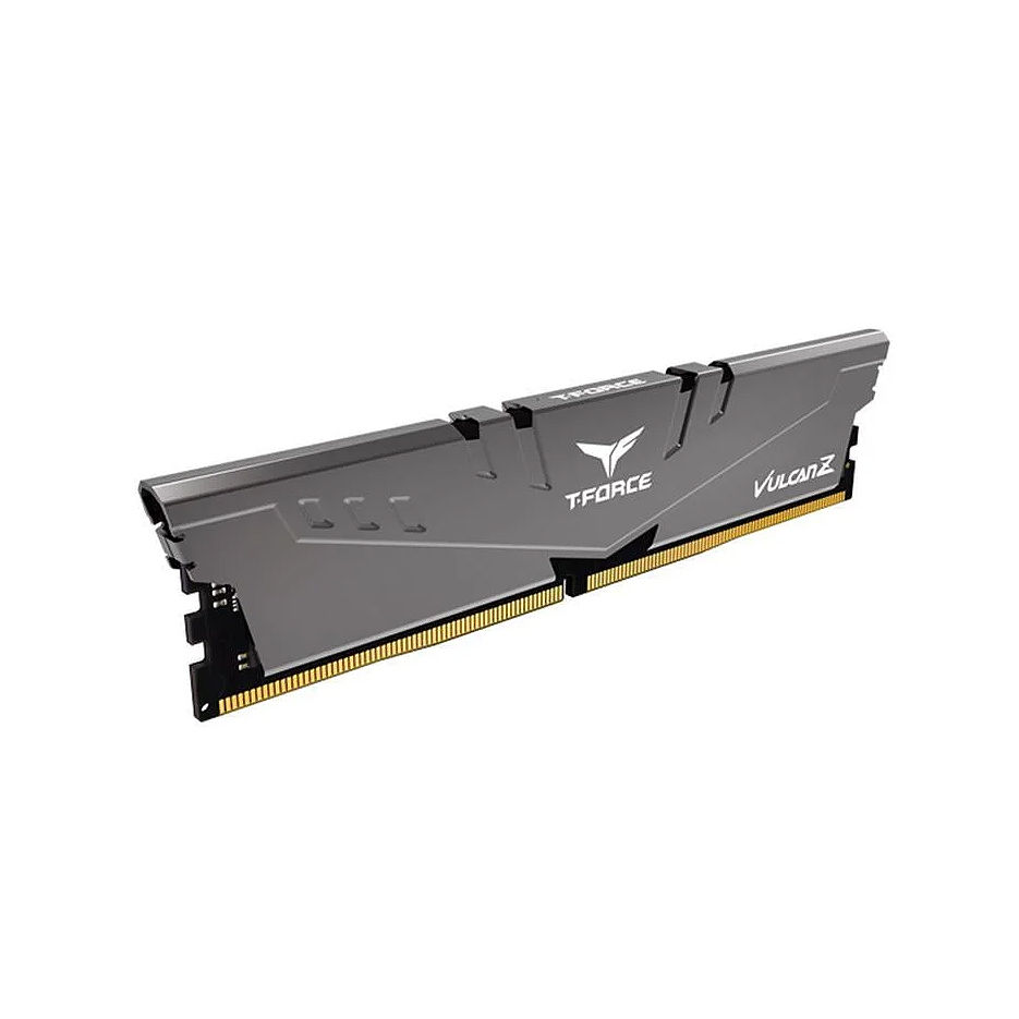16GB DDR4 Team Group T-Force Vulcan Z Grey TLZGD416G2666HC18H01 DDR4 PC4-21300 2666MHz CL18, Retail (memorie/память)