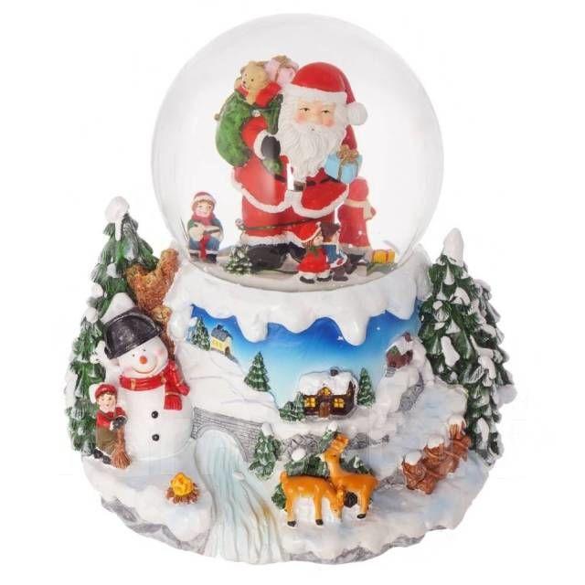 Сувениры со снегом