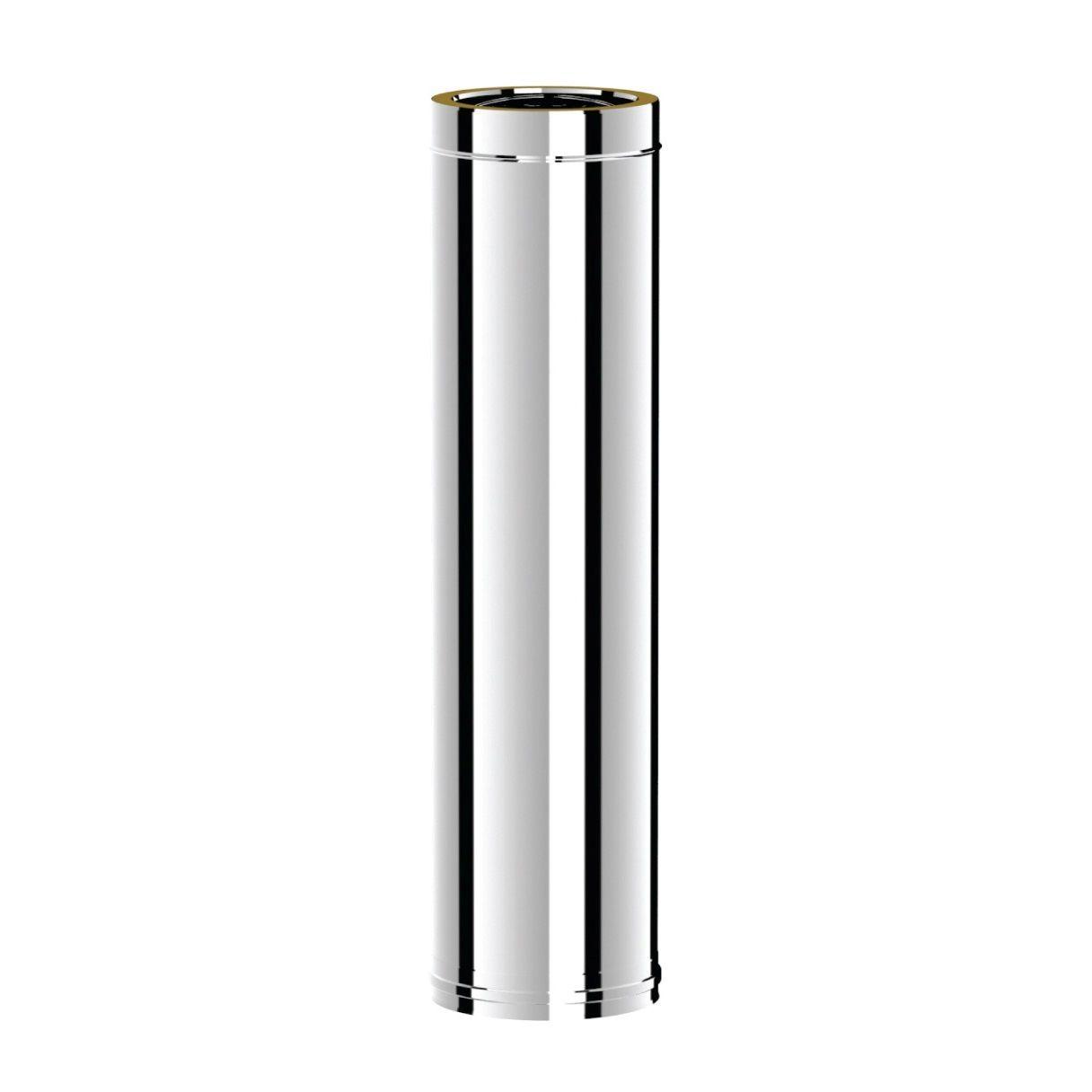Ø130-180 Труба дымоходная 1000 mm утепленная (304-304)