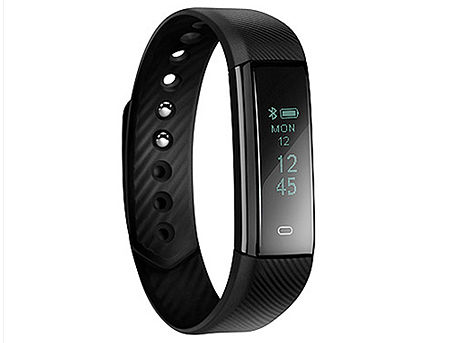 "Acme ACT101 Black activity tracker, 0.86"" OLED, Li-ion, Accelerometer, Pedometer, Touch Screen, Bluetooth 4.0 (smart band / смарт браслет) www"