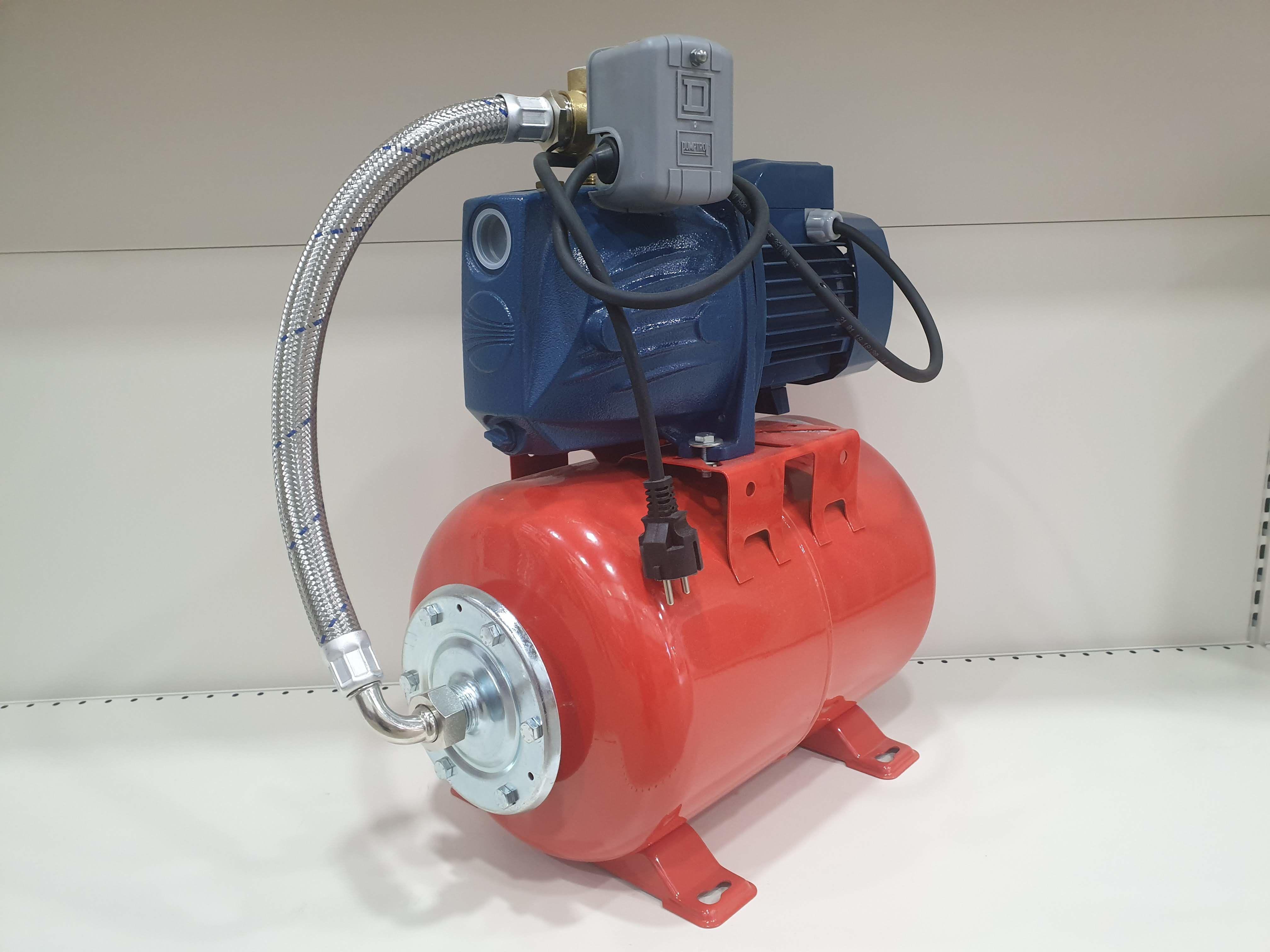 Гидрофор PEDROLLO JSWm2 CX 0.75кВт 9м (Защита)