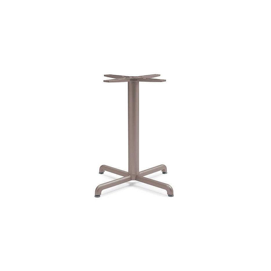 Подстолье металлическое Nardi BASE CALICE ALU vern. tortora 52659.00.000