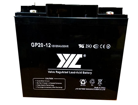 Baterie UPS 12V / 20Ah JYC GP20-12, Valve Regulated AGM Lead-Acid Battery ( 181 x 77 x 167 mm )