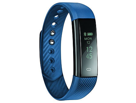 "Acme ACT101B Blue activity tracker, 0.86"" OLED, Li-ion, Accelerometer, Pedometer, Touch Screen, Bluetooth 4.0 (smart band / смарт браслет) www"