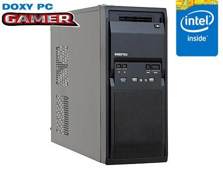 Computer DOXY PC GAMER INTEL - CPU Intel Core i5-10400F 2.9-4.3Hz Six Cores, 12-Threads, 12MB / 16GB DDR4/ 240GB SSD /1TB HDD/ VIDEO GeForce GTX1650 4GB GDDR6, 128-bit/ Case ATX 700W
