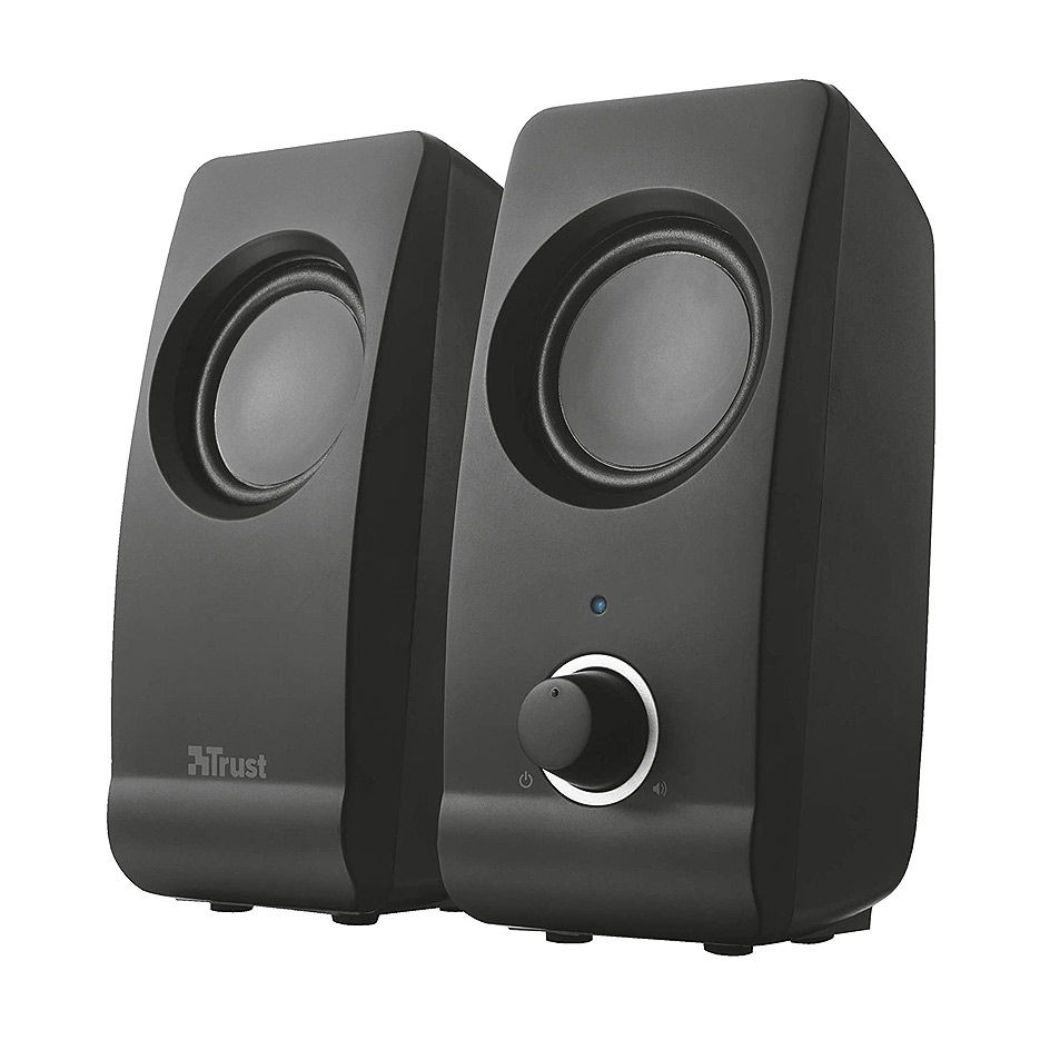 Колонки Active Speakers Trust Remo 2.0 Speaker Set, 16W, USB-powered, Black