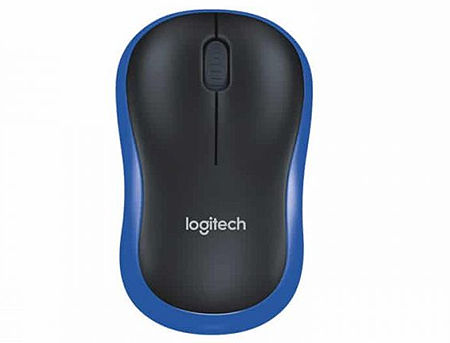 Logitech M185 Blue Wireless Mouse USB, 910-002236 (mouse fara fir/беспроводная мышь)