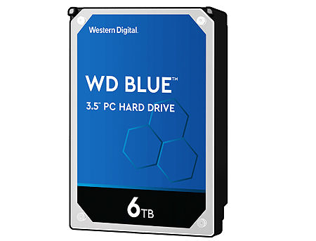 "3.5"" HDD 6TB Western Digital Blue WD60EZAZ, 5400 RPM, SATA3 6GB/s, 256MB (hard disk intern HDD/внутренний жесткий диск HDD)"