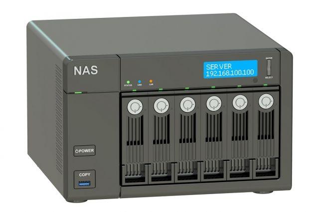 сетевые хранилища данных (NAS)