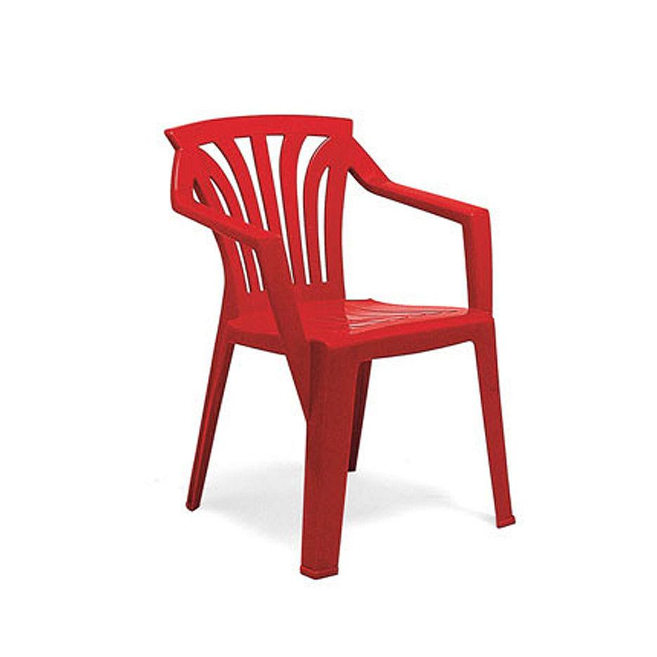 Кресло детское Nardi ARIEL ROSSO 40278.07.000 (Кресло детское для сада террасы балкона)