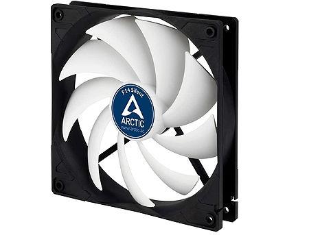 Case/CPU FAN Arctic F14 Silent, 140x140x27 mm, 3-pin, 800rpm, Noise 0.08 Sone (@ 800 RPM), 46 CFM (78 m3/h)