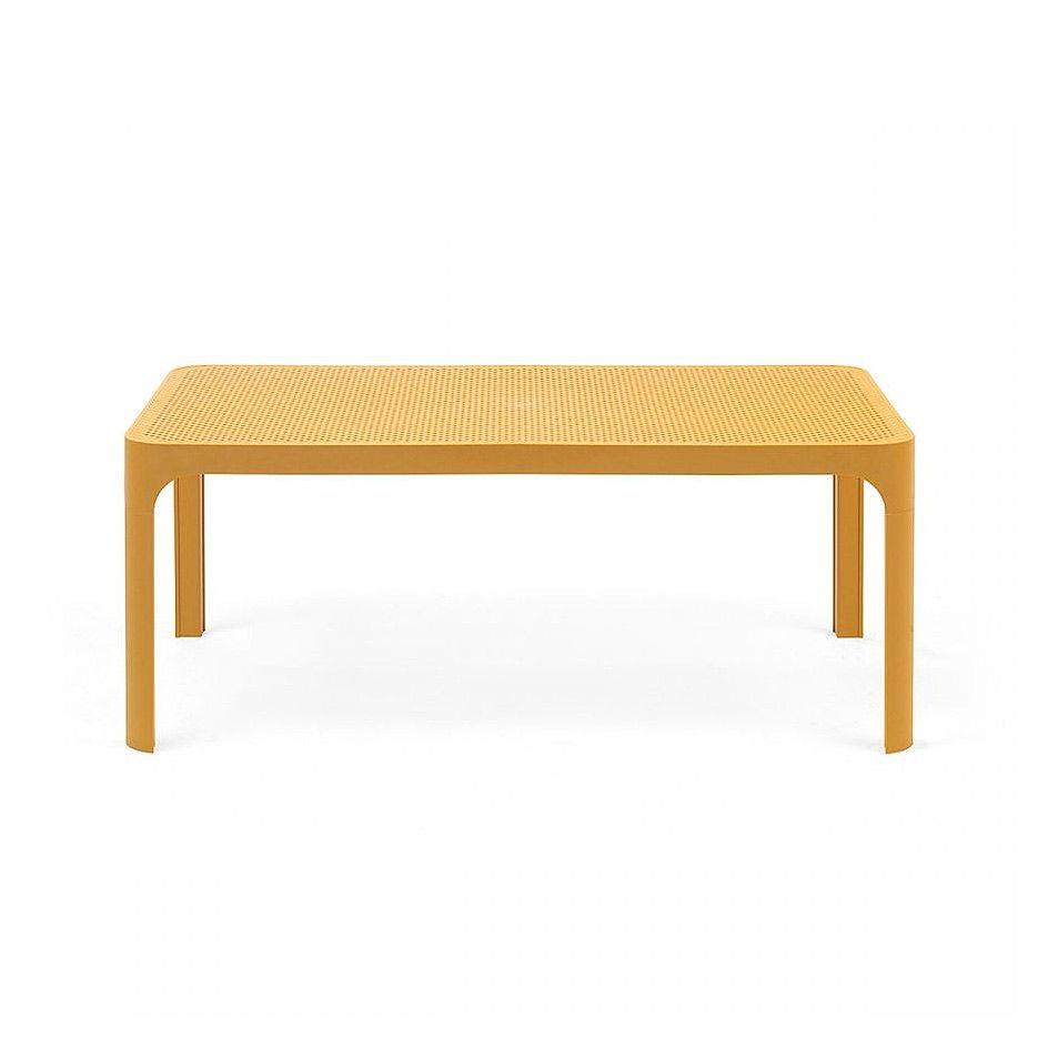 Masa Nardi NET TABLE 100 SENAPE 40064.56.000 (Masa pentru gradina exterior sezlong terasa balcon)