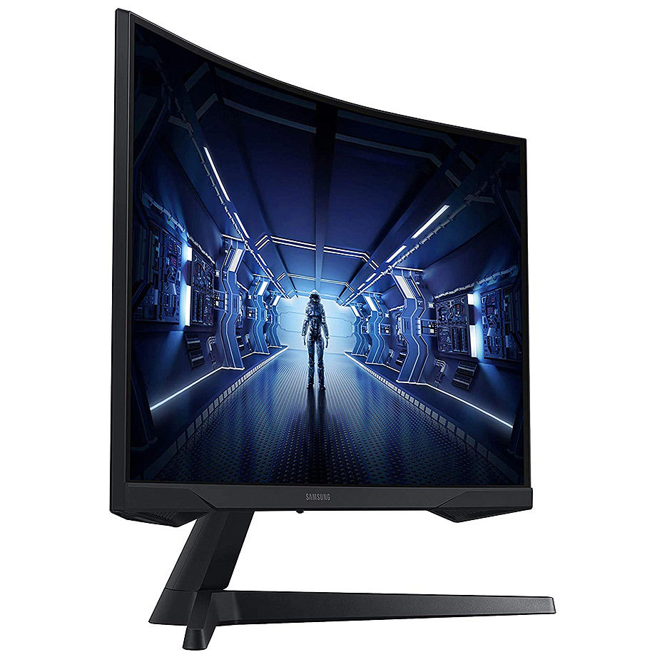"Монитор 27"" Samsung Odyssey G5 C27G54TQW Curved 2K Gaming Monitor WIDE 16:9, 1ms, 144Hz, FreeSync Premium, Contrast 2500:1, HDR10, 2560x1440 WQHD, HDMI/Display Port,"