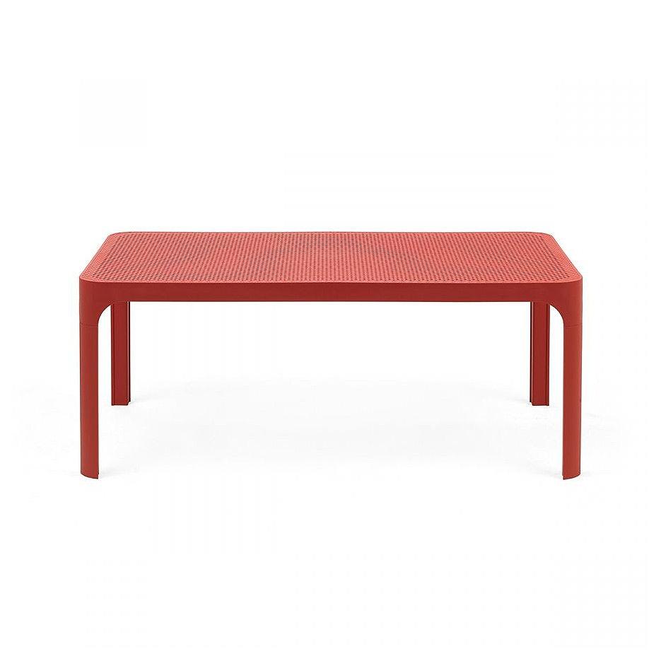 Стол кофейный Nardi NET TABLE 100 CORALLO 40064.75.000 (Стол кофейный для сада лежака террасы балкон)