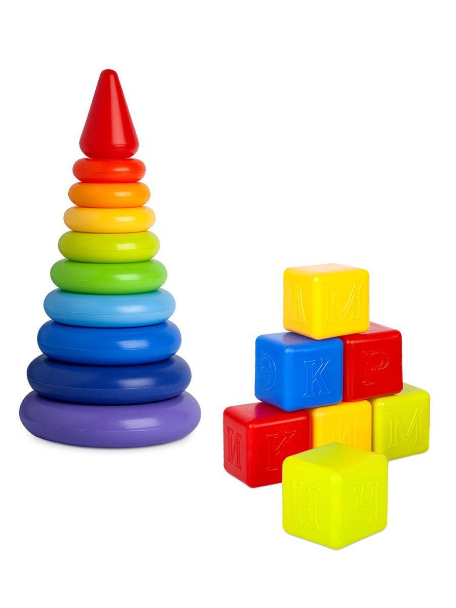Пирамиды и кубики