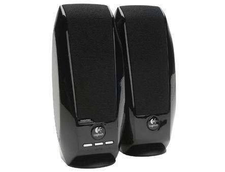 Logitech S150 Digital USB Speaker System, Black, 2.0, RMS 1.2W, 2x0.6W, 90 - 20.000 Hz, 980-000029 (boxe sistem acustic/колонки акустическая сиситема)