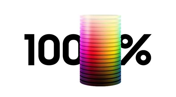 Volum de culoare 100%