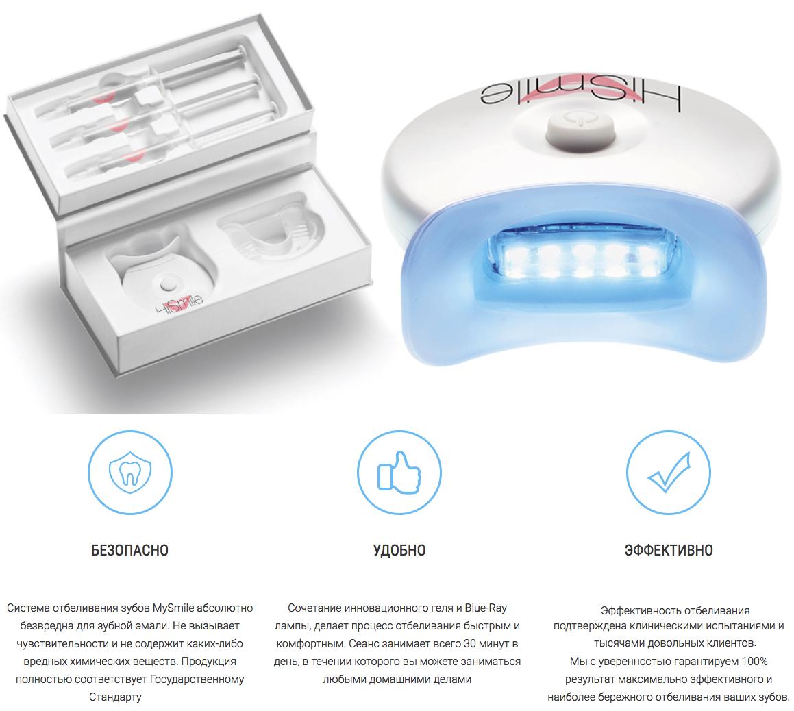 отбеливание зубов kit отзывы