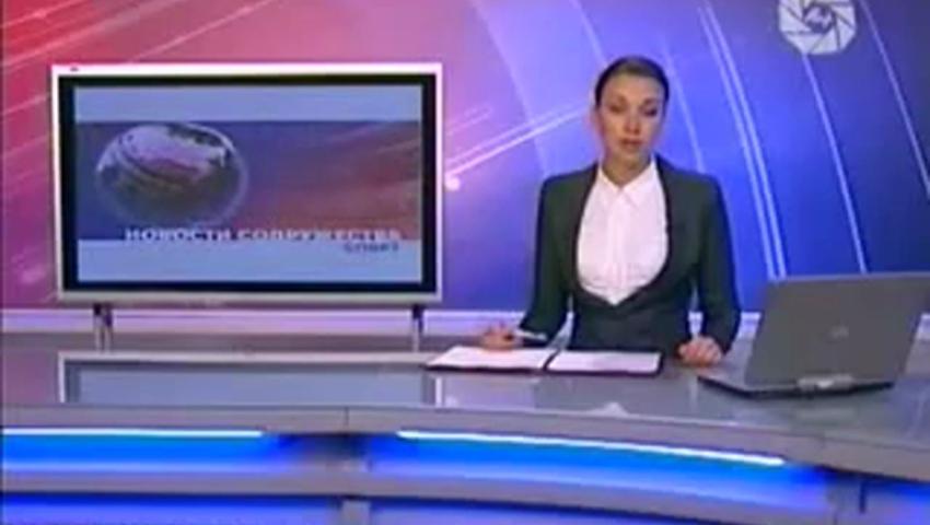 Посмотреть ролик - Ведущая Новостей отжигает в прямом эфире украинская теле