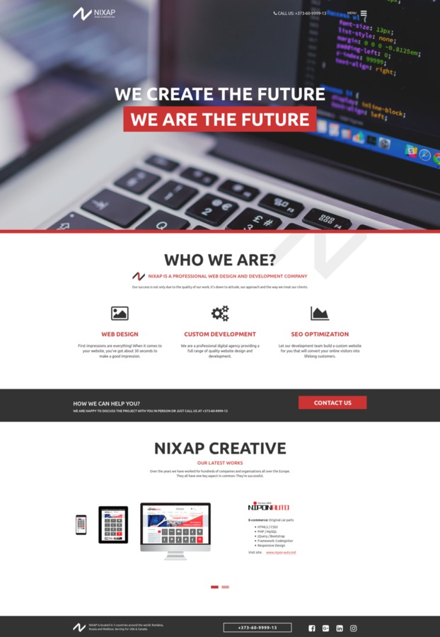 Специализация - создание вэб-сайтов honda xrumer