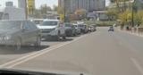В разгар пандемии коронавируса в Кишиневе образовалась пробка