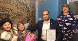 Власти Комрата поздравили 90-летнюю жительницу столицы с юбилеем