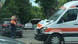 На Ботанике произошло ДТП с участием машины скорой помощи