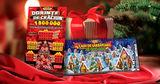 Лотерея: Подарки на Рождество – 2 билета с выигрышами на миллионы Ⓟ