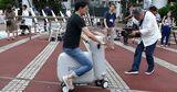 Японские изобретатели создали надувной электробайк весом 5 килограмм