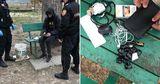 В Кишиневе карабинеры обнаружили у подростка 12 пакетиков с наркотиками