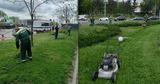 В столичных парках и скверах ведутся работы по скашиванию травы
